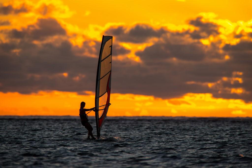 Windsurfen und das Leben