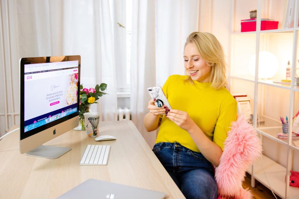 Auf einfache Art mehr Sichtbarkeit auf Instagram & Co. erlangen – Tipps & Hacks von Caroline Preuss